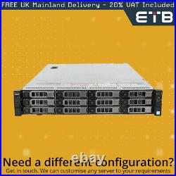 Dell PowerEdge R730xd 2 x E5-2630v3 2.4GHz CPUs, 64GB RAM, 12 x 4TB SATA HDDs