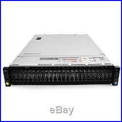 Dell PowerEdge R730xd Server 2.30Ghz 24-Core 192GB 2x 200GB SSD 4x 1TB