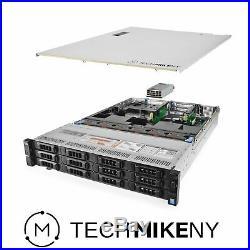 2TB NVME SSD 2X Trays Included 2X 750W PSUs 32GB DDR4 iDRAC 8 Express H330 Dell PowerEdge R630 8-Bay SFF 1U Server 2X Xeon E5-2650 V3 2.3GHz 10 Core 25MB Renewed No Rail