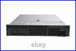 Dell PowerEdge R740 2x 8-Core Silver 4110 2.1Ghz 64GB Ram 8x 2.5 Bay 2U Server