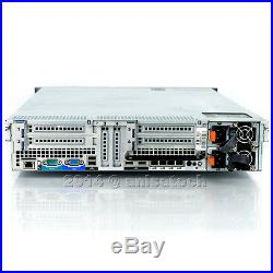 Dell PowerEdge R810 4x E7-4860 2.26Ghz 10-CORE 256GB RAM PERC H700 40-CORES 1TB