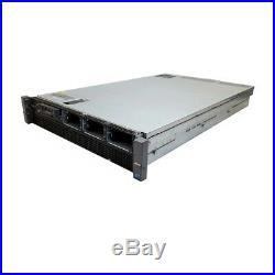 Dell PowerEdge R810 Server Barebones 4x Heatsinks 2x PSU