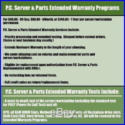 Dell PowerEdge R820 16B Barebones LGA 2011 4x Heatsinks 2x 1100W