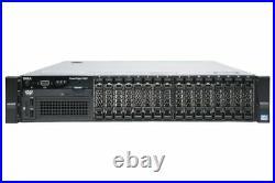 Dell PowerEdge R820 2 x E5-4650 256GB RAM 8 x 1TB SAS HDD H710 iDrac Ent