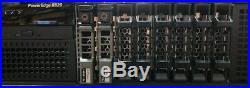 Dell PowerEdge R820 8xSFF Server with 1024GB RAM (32 x 32GB), 4x Intel E5-4650, HD