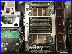 Dell PowerEdge R820 8xSFF Server with 768GB RAM (24x 32GB), 4x Intel E5-4627v2 HDD