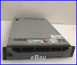 Dell PowerEdge R820 SFF Server 2X E5-4620/ 32GB DDR3/ 6X 300GB 10K SAS / H710