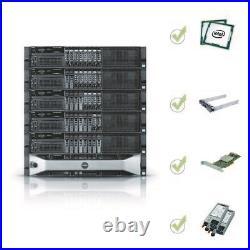 Dell PowerEdge R820 Server 4x E5-4620 V2 2.2GHz = 32Core 64GB H310 RPS + 2 trays