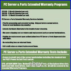 Dell PowerEdge R820 Server / 4x E5-4650 = 32 Cores / 256GB RAM / 2x 600GB SAS