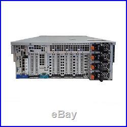 Dell PowerEdge R910 4B Server Barebones 4x Heatsinks No CPU No RAM No HDD 8MR