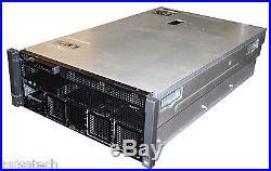 Dell PowerEdge R910 4x E7-4860 2.26Ghz Xeon 10-CORES 256GB DDR3 4x450GB SAS 10K