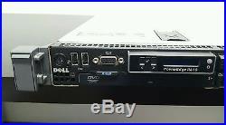 Dell PowerEdge Server R610 2x X5670 6x2.5 Tray NO HDD 48GB RAM PERC 6i with Rail