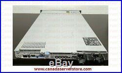 Dell PowerEdge Server R610 Dual Xeon X5670 6x250GB Dell HDD 48GB RAM Two PS RAIL