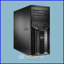 Dell PowerEdge T110 2.4GHz Quad Core /16GB / 3TB / Dell PERC 6i RAID / DVD /WNTY
