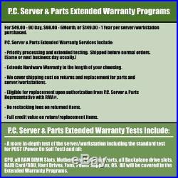 Dell PowerEdge T110 II Server 4-Core 3.20GHz E3-1230 16GB RAM 4x 500GB 3.5 SATA