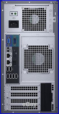 Dell PowerEdge T130 Server 16GB RAM RAID 3.4GHz Xeon E3-1230 v5 NEW