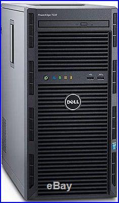 Dell PowerEdge T130 Server 32GB RAM RAID 3.4GHz Xeon E3-1230 v5 NEW