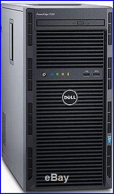 Dell PowerEdge T130 Server 8GB RAM RAID 3.0GHz Xeon E3-1220 v5