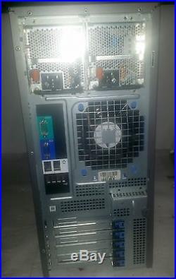 Dell PowerEdge T300 Server / Xeon X3323 Quad core 2.5GHz 8GB 4x HDD Caddy 2x PSU