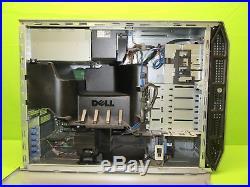 Dell PowerEdge T300 Server with Intel Xeon Quad Core 2.50GHz 8GB RAM 3x 146GB HDD
