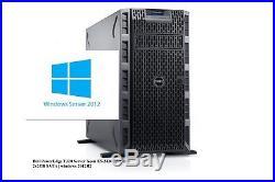 Dell PowerEdge T320 Server Xeon E5-2420 24GB 2x2TB SATA windows 2012R2