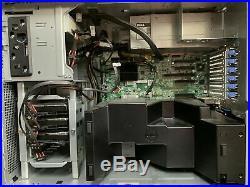 Dell PowerEdge T320 Tower Server 64GB RAM, 6TB HDD, IDRAC 7, XEON 6 CORE CPU