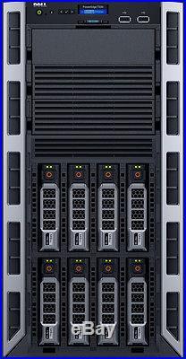 Dell PowerEdge T330 Server 8GB RAM 4TB 4x1TB RAID 3.4GHz Xeon QC E3-1230 v5 NEW
