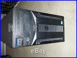 Dell PowerEdge T410 2 x Xeon X5650 2.66Ghz 128GB RAM 6 x 1TB HDD DVD Perc 6i