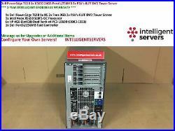 Dell PowerEdge T610 1x X5650 24GB Perc6i/256 2x PSU's 8LFF DVD Tower Server