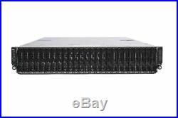 Dell PowerEdge XC6320 C6320 C6300 4 node Server 8 x E5-2620 V3 128GB Ram 24 SFF