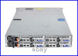 Dell Poweredge C6300 24B SFF 2U 4x C6320 Nodes CTO Server iDrac8 Ent/RAILS/1400W