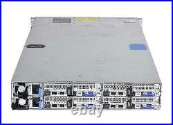 Dell Poweredge C6300 24B SFF 2U 4x C6320 Nodes CTO Server iDrac8 Ent/RAILS/1600W