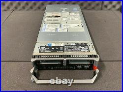 Dell Poweredge M630 BAREBONES Blade Server 2x Heatsinks X520 iDrac GREAT