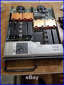 Dell Poweredge M910 4x E7540 24 Cores 48 Threads No Ram No Drives Blade 2.27GHz