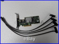Dell Poweredge R210 Server Perc H200 Pci Raid Kit For Cabled Hdd Sas SATA 3j8fw