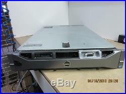 Dell Poweredge R710, 2x Xeon E5504 2.0GHz (8- total cores) 24GB 2x PSU, PERC 6i