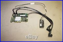 Dell Poweredge R710 3.5IN PERC H700 Raid Card with 1GB/Battery/Cables M246M QT