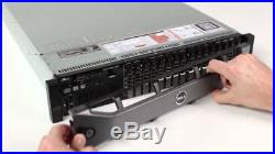 Dell Poweredge R720 Xeon E5-2660 2.20GHz 96GB DDR3 1.2TB SAS 10K H710 Mini 512mb