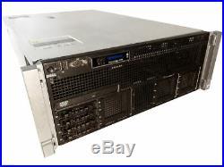 Dell Poweredge-R910 4x E7-4870 2.40Ghz-40-CORE-256GB-DDR3-16x 2.5 caddies-H700