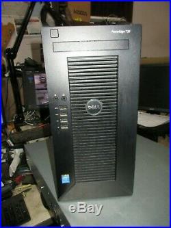 Dell Poweredge T20 Tower Server Intel 3.0ghz 32gb 2 X 2tb Hdd No Os