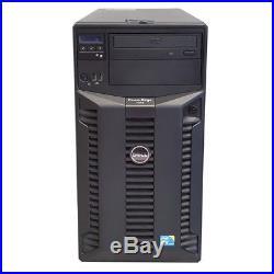 Dell Poweredge T310 Tower X3430 8GB 4x Trays PERC 6I 375W DFPS
