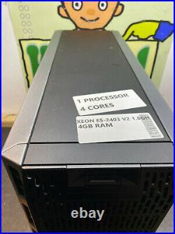 Dell Poweredge T320 Intel Xeon E5 2403 V2 4GB NO HDD PC SERVER DESKTOP TOWER