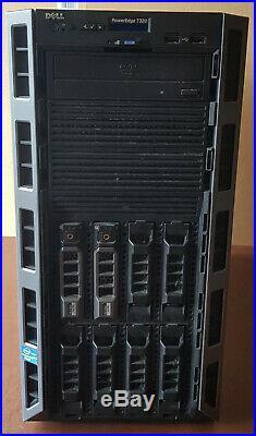 Dell Poweredge T320 Server, 32GB RAM, 2 X 4TB SAS, CPU E5-1410 V2 @ 2.80GHZ