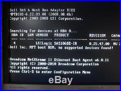 Dell Poweredge T410, 2x Xeon X5650 2.67GHz (12-Core), 16GB, 3.5 bays