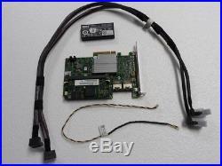 Dell Poweredge T410 Server Perc H700 Pci Sas SATA Raid Kit With Battery & Cables