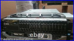 Dell R720, 2 E5-2680 CPUs, 192GB RAM, 16 2.5 HD bays, H710, Rack Rails
