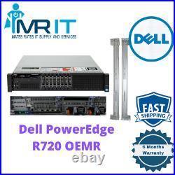 Dell R720 8Bay 2x E5-2620 6CORE 2.00GHz 128GB Ram H710 RAILS INCLUDED