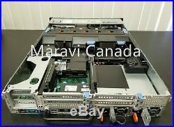 Dell R720 Server 8x3.5 2x E5-2620 V2 128GB RAM 8x trays H710 Raid Rail