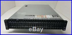 Dell R720xd Server with2x 10-Core 1.7GHz E5-2650Lv2, 64GB, 2x 300GB, H310, 26-Bay