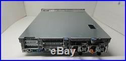 Dell R720xd Server with2x 8-Core 2.4GHz E5-2665, 64GB, 2x 300GB, H310,26-Bay, Rails